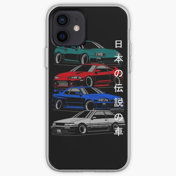 JDM Legends iPhone Soft Case
