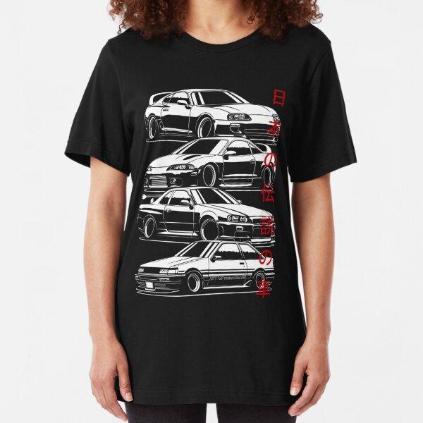 JDM Legends Slim Fit T-Shirt