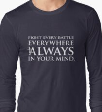 "Game of Thrones® - ""Fight Every Battle"" Quote T-Shirt & Memorabilia T-Shirt"