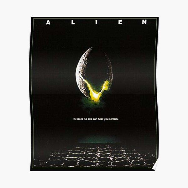 Extraterrestre. Huevo, película, película, cartel. Póster