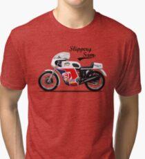Slippery Sam Production Racer Tri-blend T-Shirt