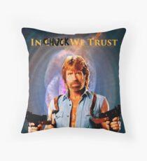 Chuck Norris Throw Pillow
