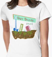 Buy Organic Music v3 Women's Fitted T-Shirt