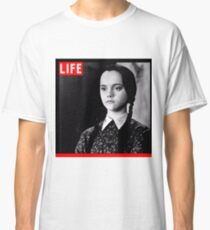 Life Wednesday Addams  Classic T-Shirt