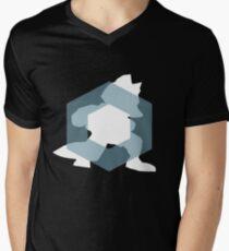 Zen Fox Men's V-Neck T-Shirt