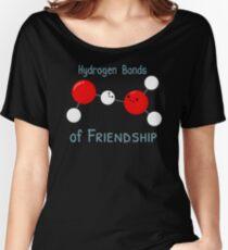 Hydrogen Bonds of Friendship Women's Relaxed Fit T-Shirt