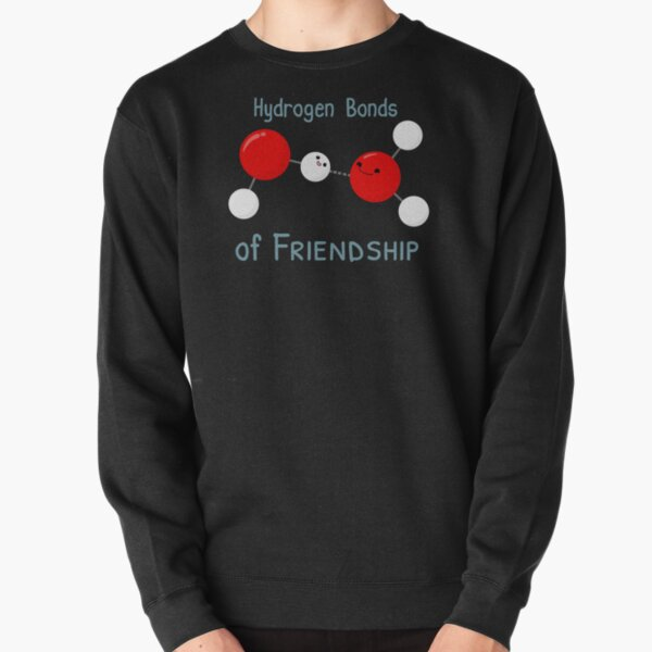 Hydrogen Bonds of Friendship Pullover Sweatshirt
