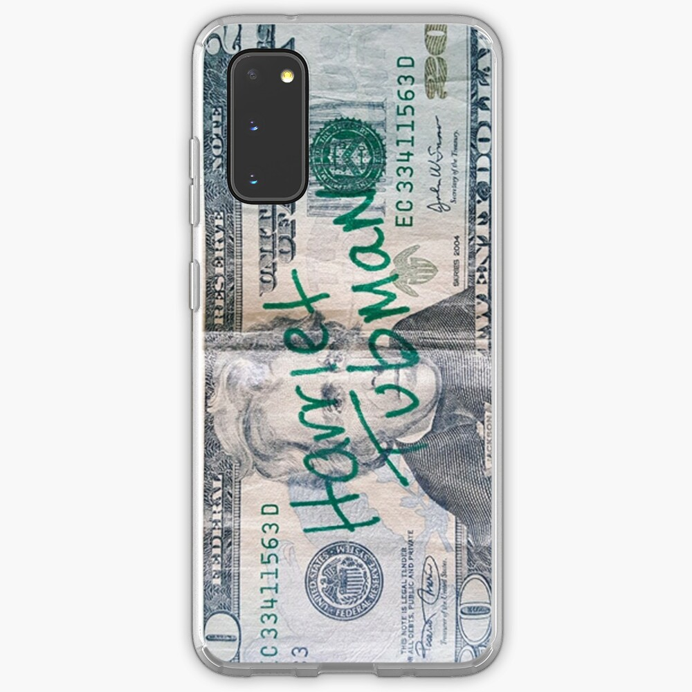 Harriet Tubman 20 Dollar Bill Case Skin For Samsung Galaxy By Thelittlelord Redbubble