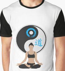 Jing Jang - Harmony - Yoga - Joga Graphic T-Shirt