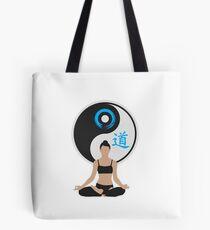 Jing Jang - Harmony - Yoga - Joga Tote Bag