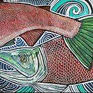 Upstream (Sockeye or Swim) by Lynnette Shelley
