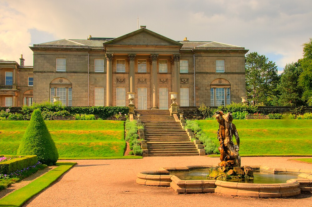 Italian Garden at Tatton Park by Charles Howarth