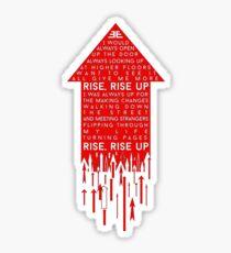 Rise Up- Imagine Dragons Sticker