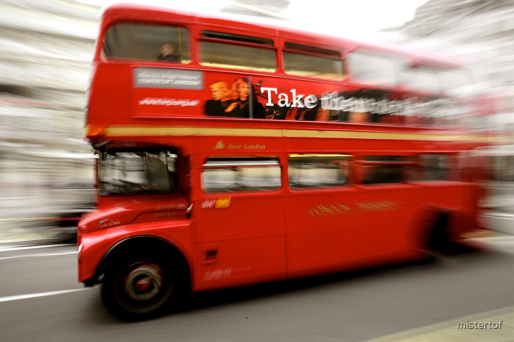 Routemaster on the Strand by mistertof