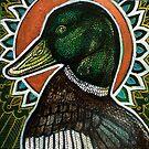 Proud Duck by Lynnette Shelley