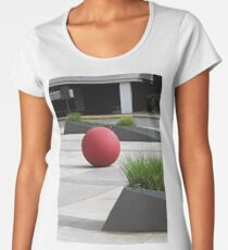 Round and Red Women's Premium T-Shirt
