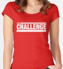 MTV The Challenge Logo Women's Fitted Scoop T-Shirt