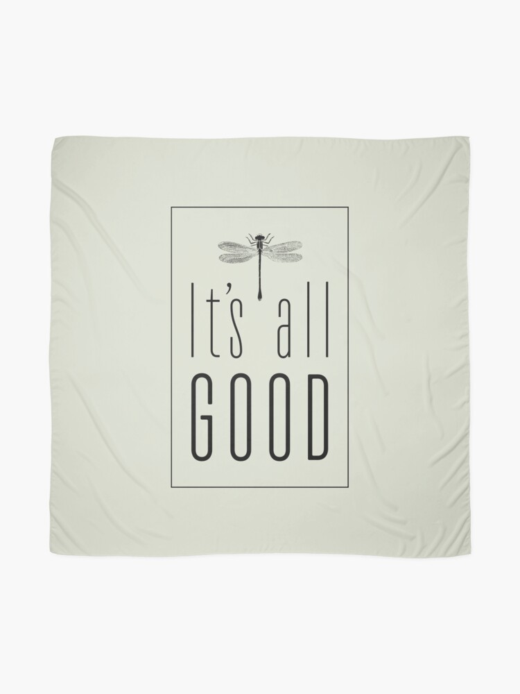 Alternate view of It's All Good Scarf