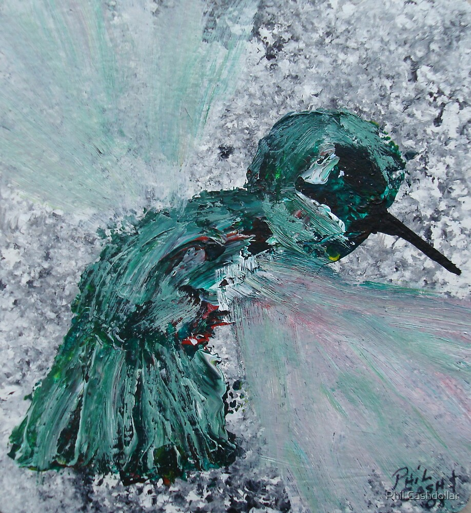 Hummingbird by Phil Cashdollar