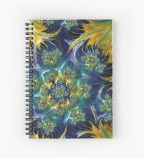 Waves of Sunshine Spiral Notebook