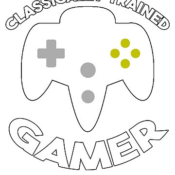 Classically Trained Gamer by gwanclothing