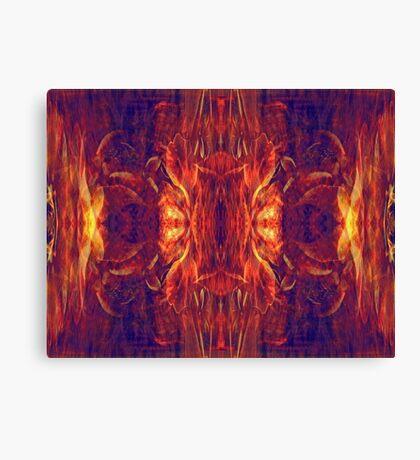 Flaming Baroque Canvas Print