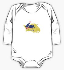 Subnautica - I <3 Sand Sandshark Baby Body Langarm