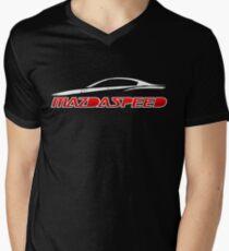 Mazdaspeed Mens V-Neck T-Shirt