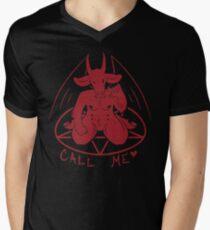 Call Me Men's V-Neck T-Shirt
