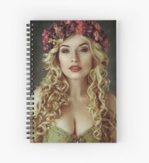 Spring Fairy II Spiral Notebook