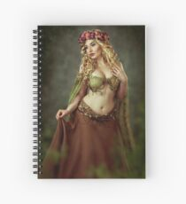 Spring Fairy Spiral Notebook