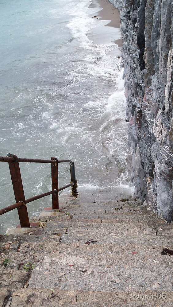 steps to the sea by MJjunkie86