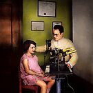 Optometrist - The eye exam 1929 by Michael Savad