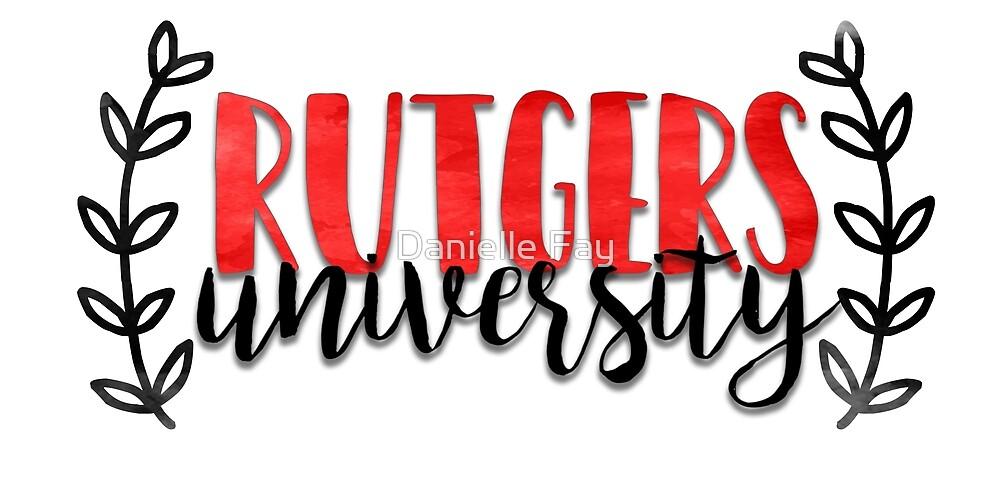 Rutgers University by Danielle Fay