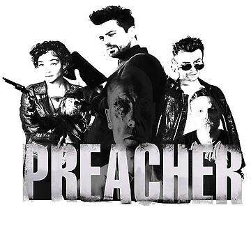 THE WORLD OF PREACHER by richmoolah88