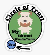 Soft Coated Wheaten Terrier  Sticker