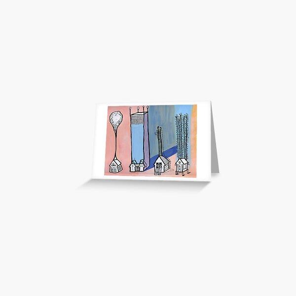 Waterflat Greeting Card
