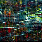 """Abstract sreies """"Reflections"""" by Martin Dingli"""