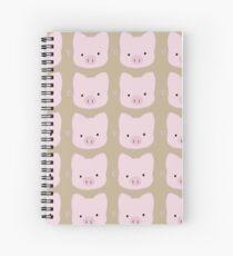 Piggy pig Spiral Notebook