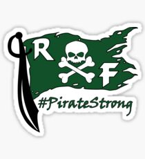 Rockport-Fulton Pirate Strong Sticker