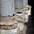 Roman Colonnade, Cartagena, Spain by Squealia