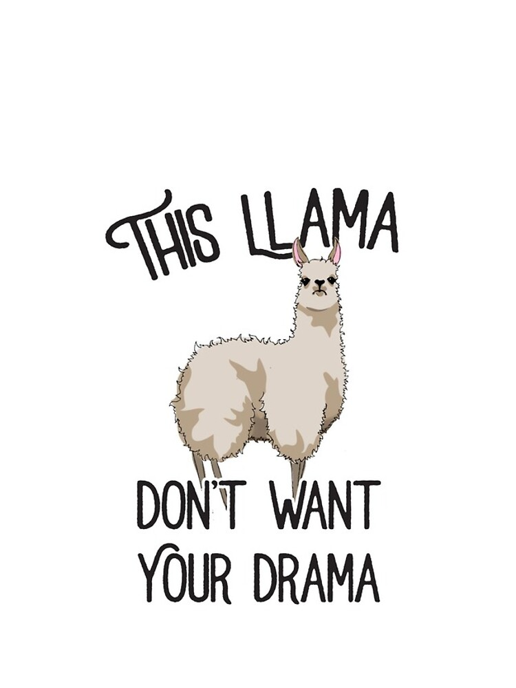 This Llama by retro-typo