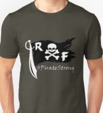 Rockport-Fulton Pirate Strong Black and White T-Shirt