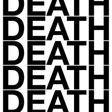 death. by nekoblazerneko