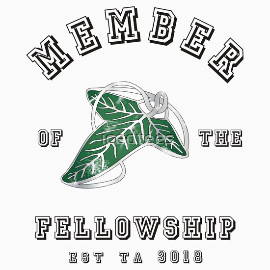 TShirtGifter presents: Member of the Fellowship | Unisex T-Shirt