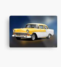 1956 Chevrolet 210 Post Coupe II Metal Print