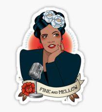 Billie Holiday Sticker