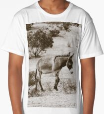 Walking Burro Long T-Shirt
