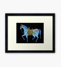 Mughal Horse Framed Print