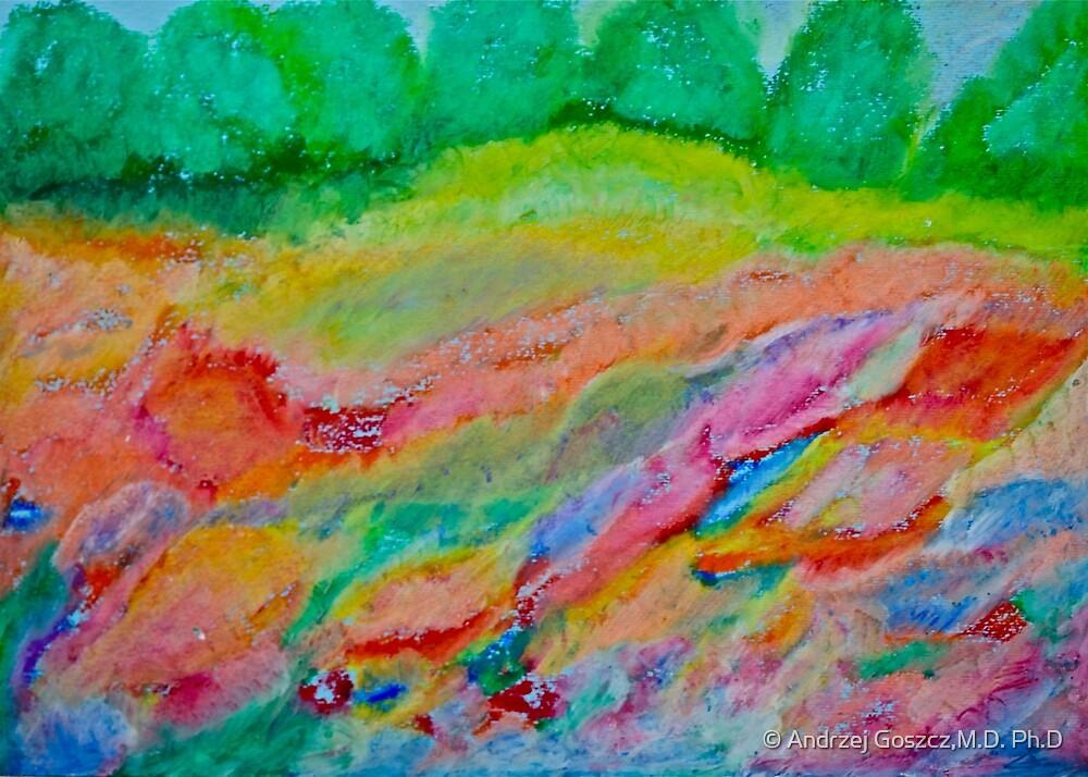 8361 views. Wonder's of spring feelings & impressionistic delusions  - Galicia - Poland .  chalk pastels by Brown Sugar . Views (8361) , Favs  (6) thanks !!! Bardzo dziękuję ! Mój rysunek pastelami !  by © Andrzej Goszcz,M.D. Ph.D